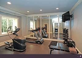 a gym room