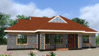 popular 3 bedroom design in Kenya