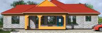4 bedrooms house design in kenya